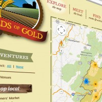 Fields Of Gold Custom Google Map
