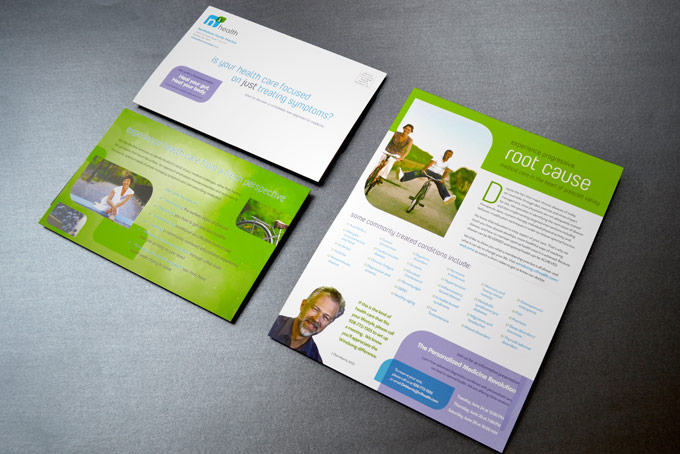 N1health Print Collateral