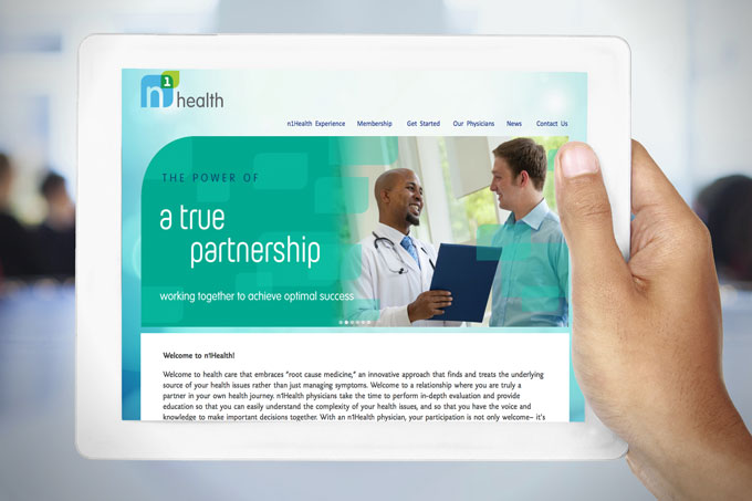 N1health Wordpress Website