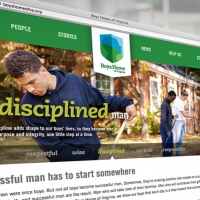 Boys Home Of Virginia Website Design