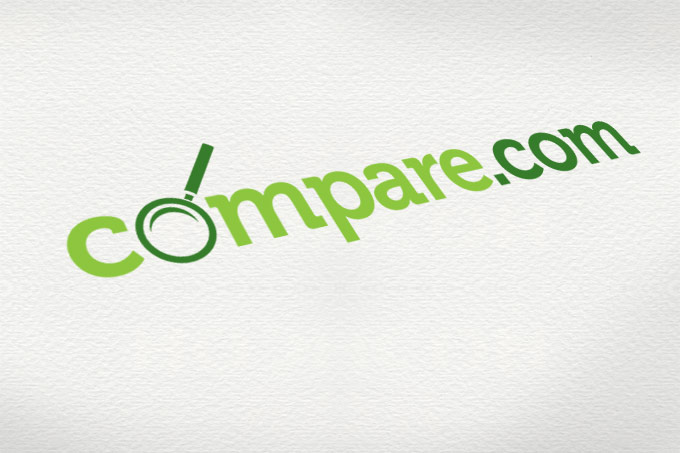 Compare.com logo design.
