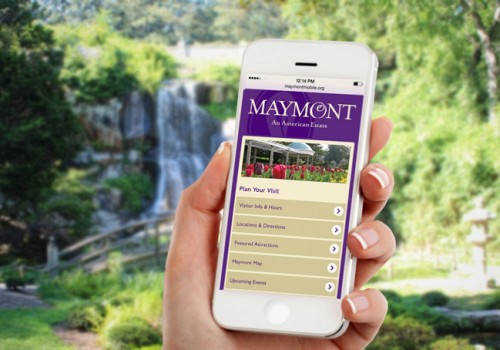 Maymont Website And Mobile Design.