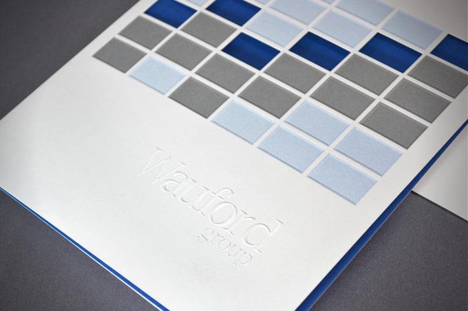 Wauford Pocket Folder Detail
