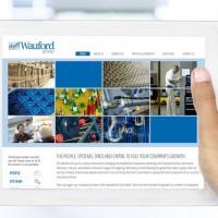 Wauford Website Design Tablet