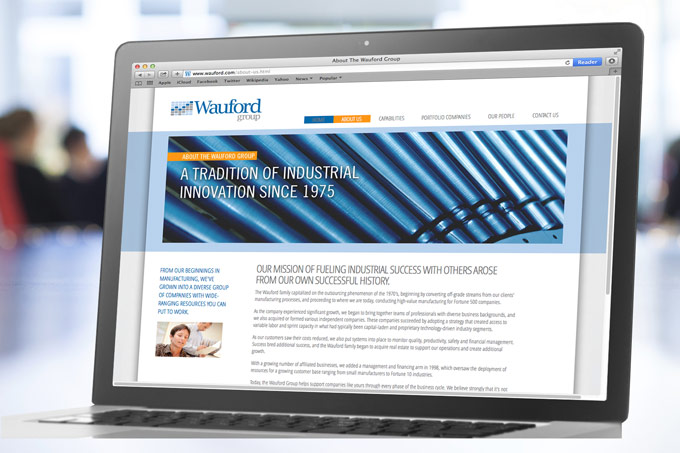 Wauford Website Design
