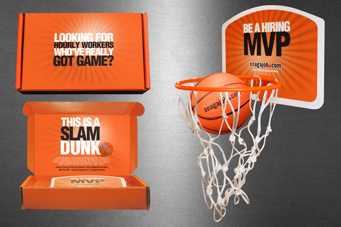 Snag-A-Job - Mini Basketball Mailer