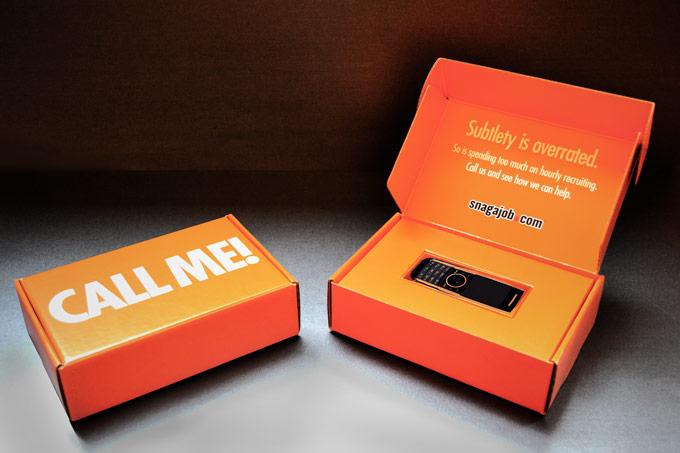 Snag-A-Job - Call Me Cell Phone Box