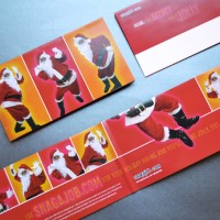 Snag A Job – Singing Santa Mailer With Sound Chip