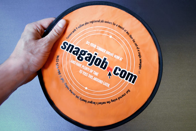Snag-A-Job - Frisbee By Mail