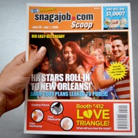 Snag A Job – Promotional Faux Tabloid Mag