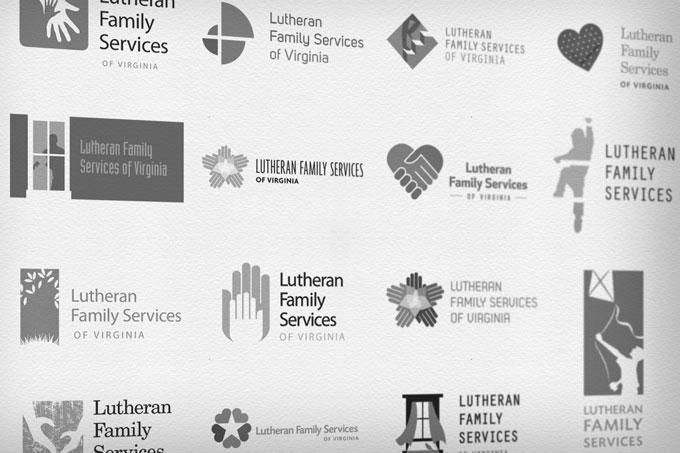 LFSVA Logo Design Process