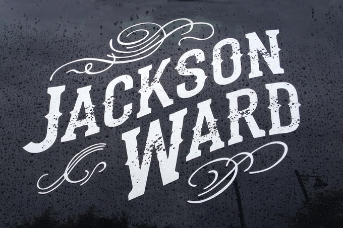 Jackson Ward Logo - Auto Decal