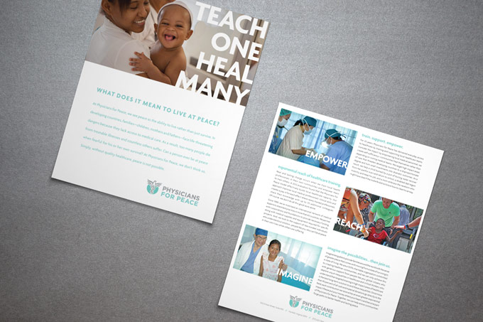 Physicians For Peace - Brochure Design