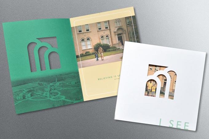 St. Joseph's Villa Brochure Design