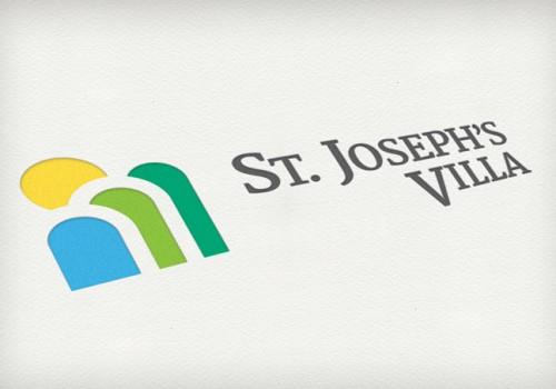 St. Joseph's Villa Branding, Logo Design, Print Design.