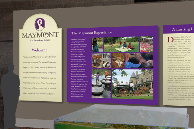 Maymont Signage In Nature Center
