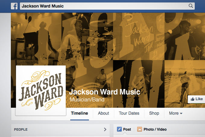 Jackson Ward Music Facebook Graphic