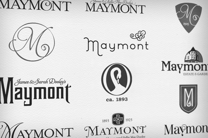 Maymont Logo Design Process