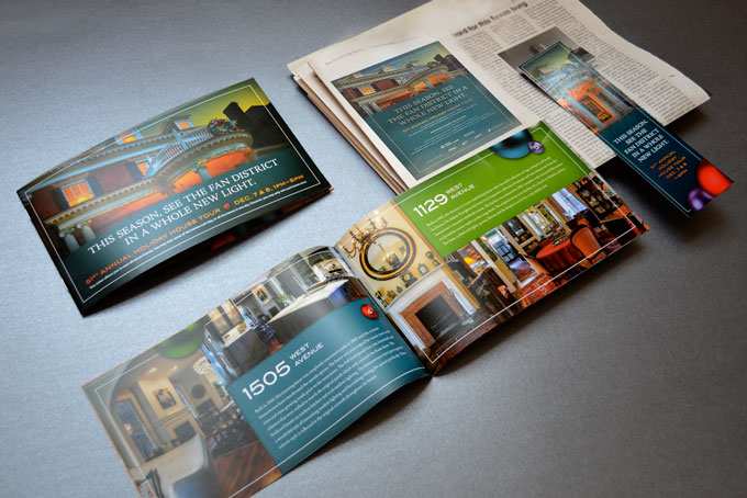 Holiday House Tour Booklet, Print Ads