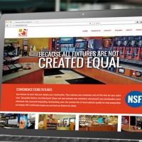 Merchants Fixture Website Design